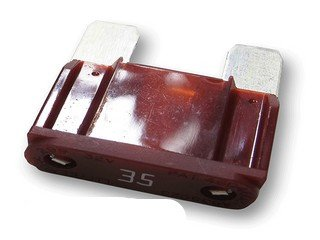 35 Amp Maxi Automotive Fuse Brown-10Pack