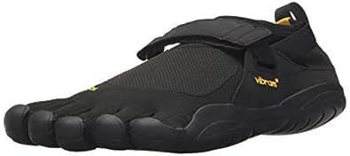 Vibram FiveFingers Men's KSO Barefoot Shoes Black/Black 49