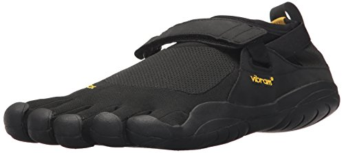Vibram Men's Five Fingers, KSO EVO Cross Training Shoe Black Black 4.4 M by Vibram (Image #1)