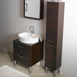 Iotti A13-Wenge-637509899998 Aurora Collection Bathroom Vanity, Wenge