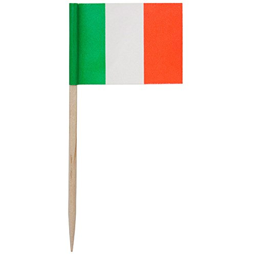 Rofson TIF146 Flag Picks Italian - 14400/Cs (100 x 144), Not Applicable