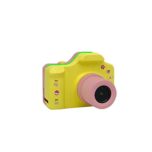TOPmountain Mini Hd Children's Digital Camera Small SLR 200W SLR Camera Toy Camera Child SLR Camera Gift - Light Pink
