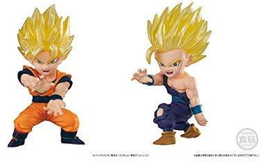 Figure Bandai Candy - Bandai Shokugan Dragon Ball ADVERGE Motion 1. Son Gohan (Super Saiyan 2) 2. Son Goku (Super Saiyan) Set of 2