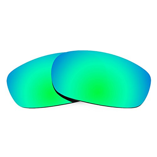 Revant Polarized Replacement Lenses for Oakley Square Wire 2.0Emerald Green - Lenses Wire Oakley Replacement Frame