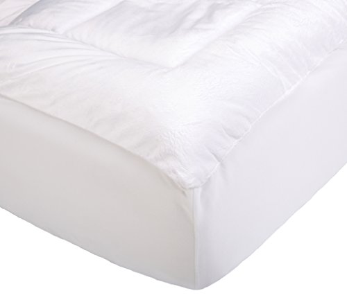 Pinzon Overfilled Microplush Mattress Pad - Twin Extra-Long