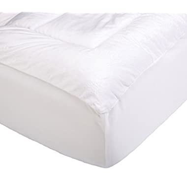 Pinzon Overfilled Microplush Mattress Pad - King