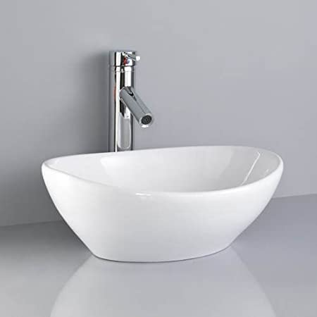 value barca wash basin sink with mono mixer tap and push click waste - Wash Basin Sink