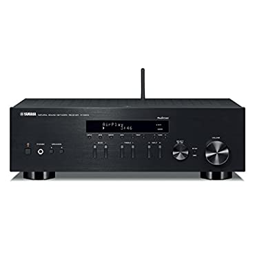 Yamaha R-N303BL Stereo Receiver with Wi-Fi Bluetooth & Phono Black