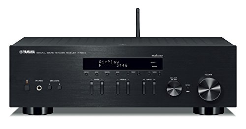 Yamaha-R-N303BL-Stereo-Receiver-with-Wi-Fi-Bluetooth-Phono-Black