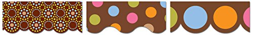 Creative Teaching Press Lots of Chocolate Border Pack (7103)