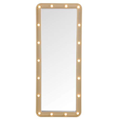 MCS 22977 Over The Door Marquee Mirror Gold]()