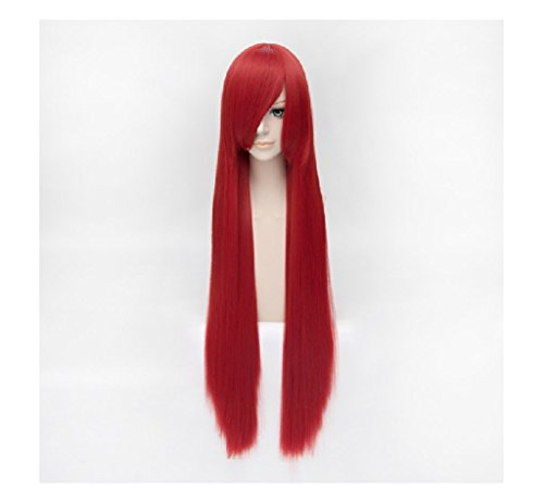 red 100 cm wig - 8