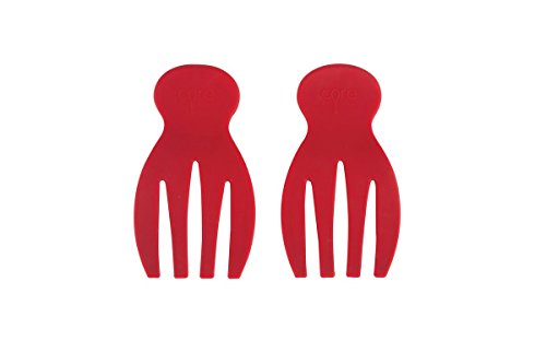 Core Silicone Salad Hands Red by Core