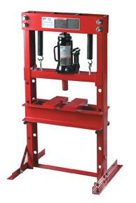 Advanced Tool Design Model  ATD-7452  12 Ton Hydraulic Bench Press by ATD