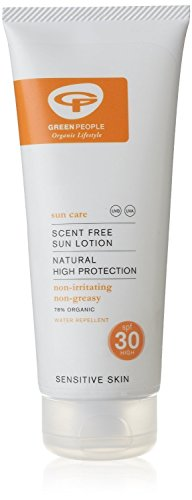 Green People Scent Free Sun Lotion SPF25 (200ml)