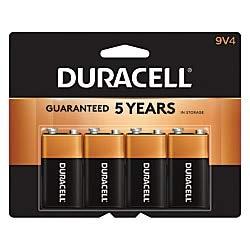 Duracell MN16B4DW 9V Battery (4 Pack)
