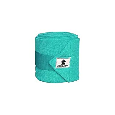 CLASSIC Equine Polo Wraps Set of 4 with Laundry Bag Prints All Styles