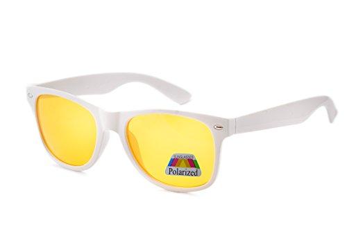 White de morefaz hombre para Gafas sol Polarized w8xqX0R