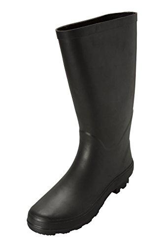 Black Waterproof Boots Mountain Wellies Womens Stream Warehouse Wellington 7nxzgq0B