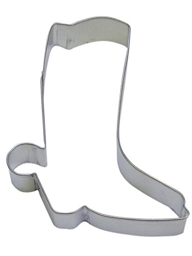 R&M Cowboy Boot 5 inch Cookie Cutter in Durable, Economical, Tinplated Steel
