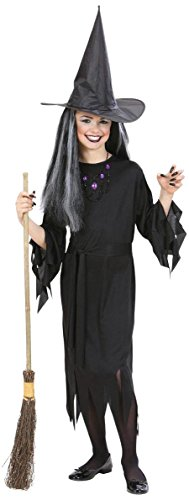 Widman – Halloween Witch Costume for Girls, Size -