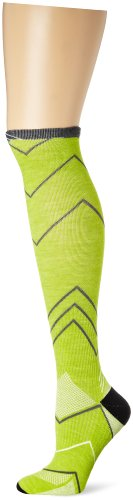 31hP-X71ghL Sockwell Women's Incline Graduated Compression- Ideal for Running, Sports and Fitness activities, Limelight, Small/Medium