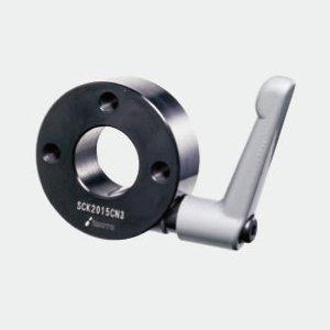 岩田製作所 セットカラー 3ネジ穴付 クサビカラー クランプレバー付 SCK5020CN3B