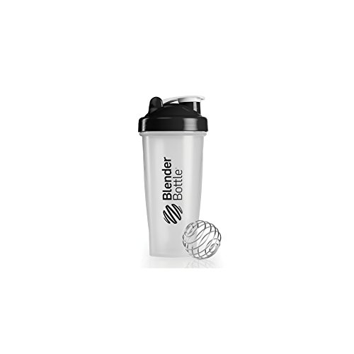 BlenderBottle Classic (Discontinued Style), 28-Ounce, Clear/Black Review