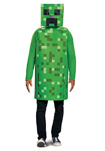Disguise Men's Creeper Classic Adult Costume, Green, One Size -
