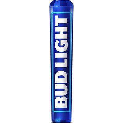 Bud Light New Style 2016 Tap Handle, Blue Steel Anheuser Bush