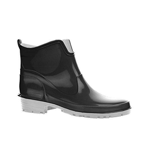 Negro Mujer 42 Boot de Botas KREXUS Rain 36 Paris Agua para EU PBn1fq