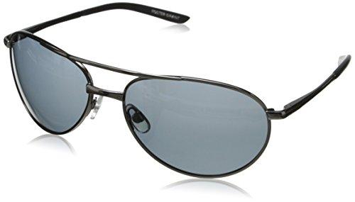 Foster Grant Men's Warning Aviator - Sunglasses Aviator Grant Foster