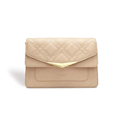 LaBante - Marlene- Vegan Handbags Crossbody bags for women - Nude Purse vegan purses quilted bag small crossbody purse side bag evening clutch crossover bag pink purse
