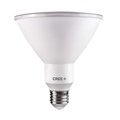 Cree Lighting TPAR38-1503025FH25-12DE26-1-E1 PAR38 120W Equivalent LED Light Bulb, Bright White