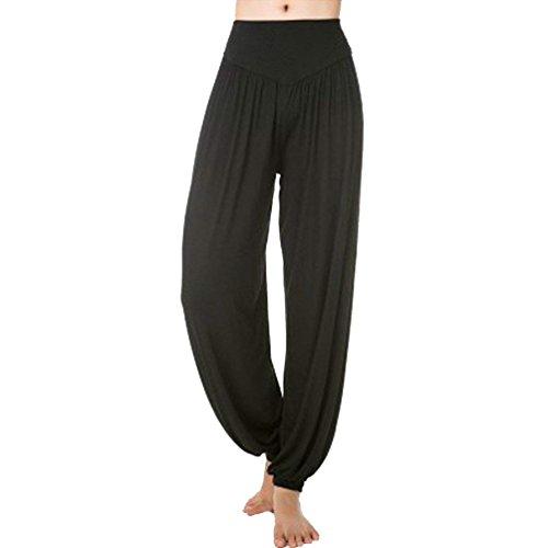 Eleganti Elastica Danza Pantaloni Tempo Libero Accogliente Yoga Harem Vita Pluderhose Solidi Classiche Di Colori Estivi Unique Fashion Sciolto Donne Lanterna Donna PnZCzSqFww