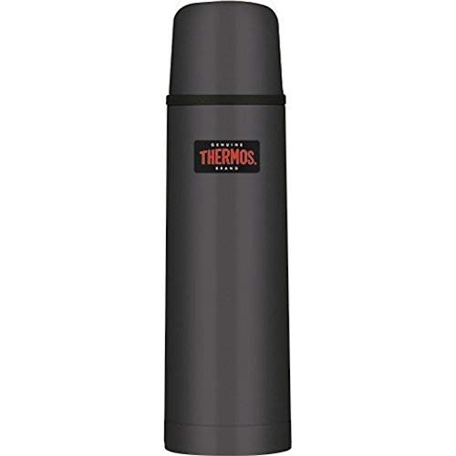 (Thermos 25oz Stainless Steel - Vacuum Insulated Portable Beverage Bottle - Black )