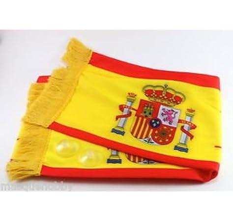 Genérico - Bufanda bandera de españa: Amazon.es: Hogar