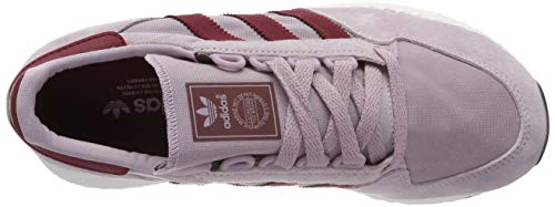 Burgundy chalk Grove collegiate Adidas Ginnastica Soft White Vision Rosa Donna soft Forest Scarpe Da White W gP1a7
