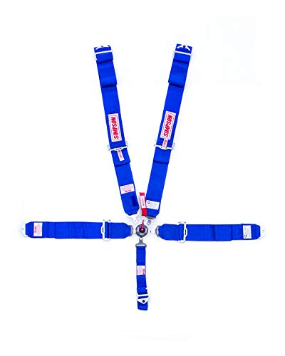 Amazon com: SIMPSON SAFETY Blue Camlock 5 Point Harness P/N 29110BL