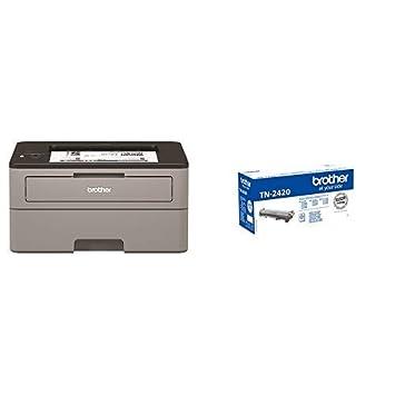 Brother HLL2350DW - Impresora láser monocromo con Wifi y dúplex + ...