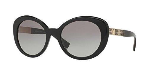 Versace Women's VE4318 Black/Light Grey - Sunglasses Versace Women 2017