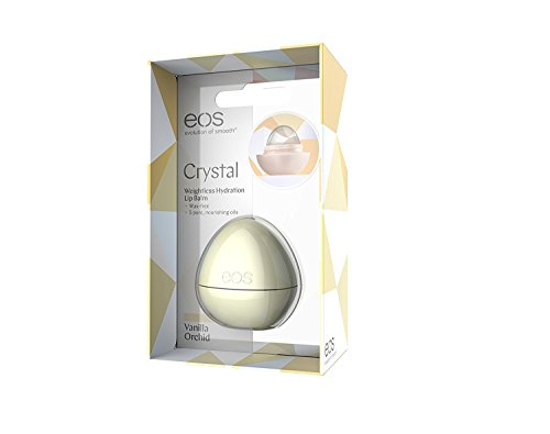 Price comparison product image EOS Crystal Lip Balm, Vanilla Orchid, 0.25 Ounce