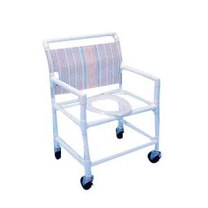Alimed Extra-Wide Shower Commode Chair (42