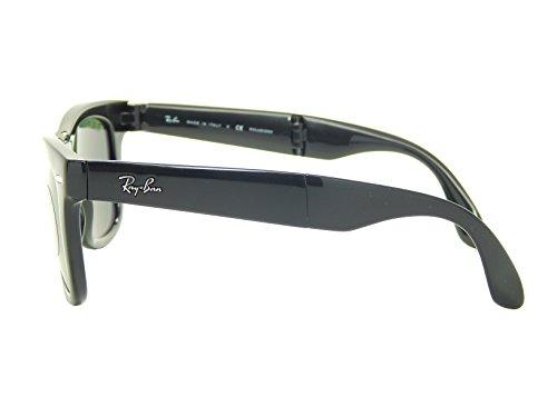 Black 58 crystal Sunglasses Folding Ban Polarized 50mm Green 601 Rb4105 Wayfarer Ray YFwaq