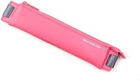 Monopolio Smart anti-lost lápiz bolígrafo funda soporte funda con Embedded banda elástica, color rosa: Amazon.es: Oficina y papelería