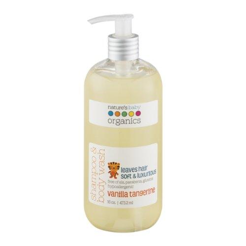 Nature's Baby Organics Shampoo & Body Wash - Vanilla Tangerine - 16 oz