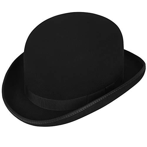 Hats.Com Men Steed Derby Hat - Exclusive Black M