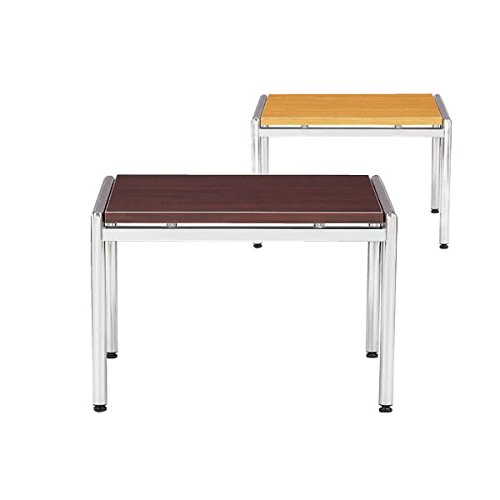 応接テーブル コーナーテーブル 幅665×奥行き600×高さ450mm 天板カラー:オーク B00AFJCF0Yオーク
