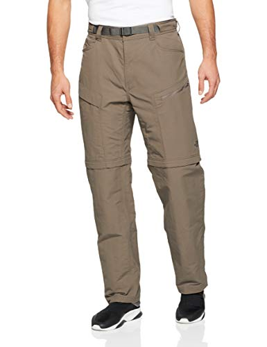 Pants North Face Rain (The North Face Men's Paramount Trail Convertible Pants - Weimaraner Brown - M (Regular))