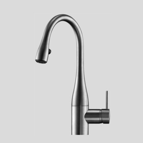 KWC Faucets 10.111.102.700 EVE Pull Down Kitchen Prep Faucet, ()